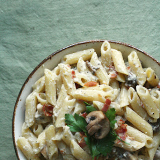Pasta Carbonara With Cream Of Mushroom Recipes.