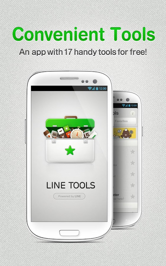 LINE Tools - screenshot