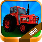 Tractor: Farm Driver - Gold icon