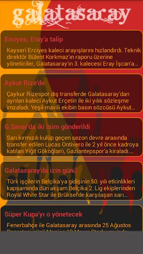 免費下載運動APP|Galatasaray Takım Kadrosu app開箱文|APP開箱王
