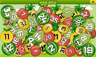 Screenshot of Numbers Fisher - touch fun