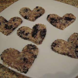 Raw Chocolate Chip Cookies.