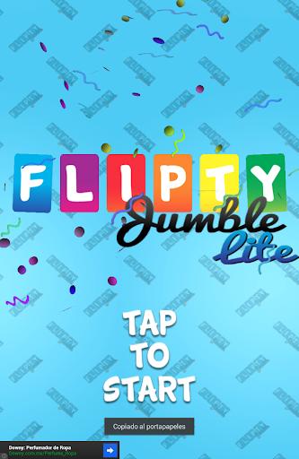 Flipty Jumble Lite Memory Game