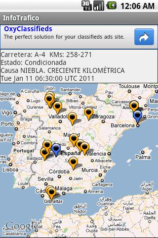 InfoTráfico - screenshot