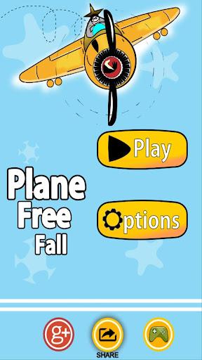 Plane free fall