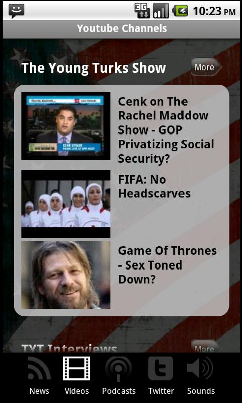 The Official Young Turks App - screenshot