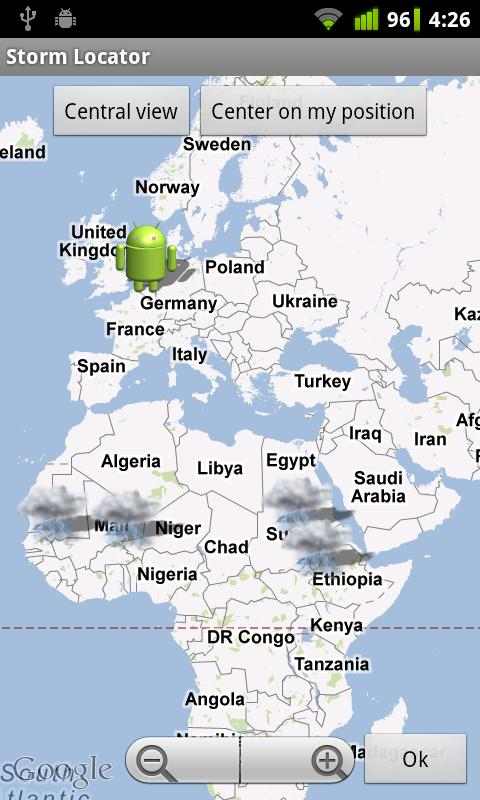 Storm Locator - screenshot