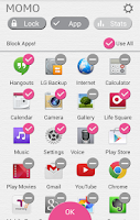 Screenshot of MOMO_ App control&Management