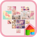 Lovely Pink Dodol Theme icon
