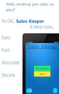 Sales Keeper Free Mobile Till screenshot 5