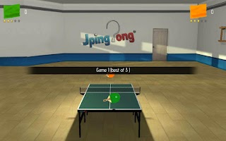 Screenshot of JPingPong Table Tennis Free