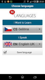 Learn Czech - 50 languages- screenshot thumbnail