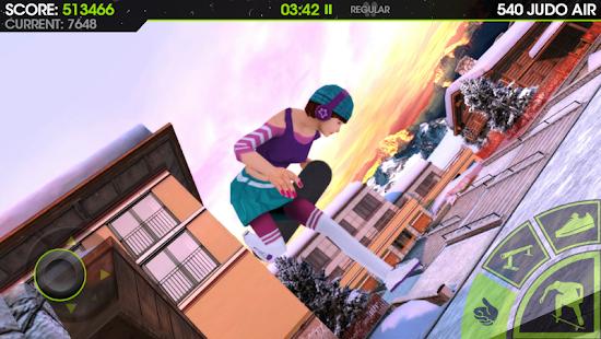 4 Skateboard Party 2 Lite App screenshot