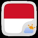 Bahasa Indonesian GO WeatherEX logo