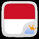 Bahasa Indonesian GO WeatherEX icon