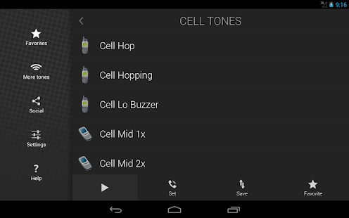 Cell Phone Ringtones- screenshot thumbnail
