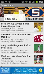 KREM Cougar Football - screenshot thumbnail