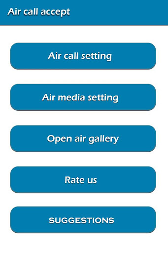 Air Call Accept