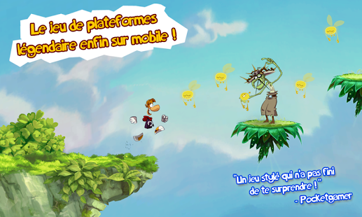 Rayman Jungle Run – Vignette de la capture d'écran
