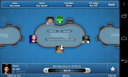 Pokerist for Tango 5.4.21 screenshot 1935
