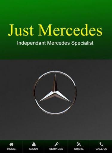 Just Mercedes