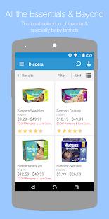 Diapers.com- screenshot thumbnail