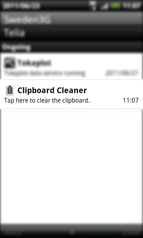 Clipboard Cleaner - screenshot