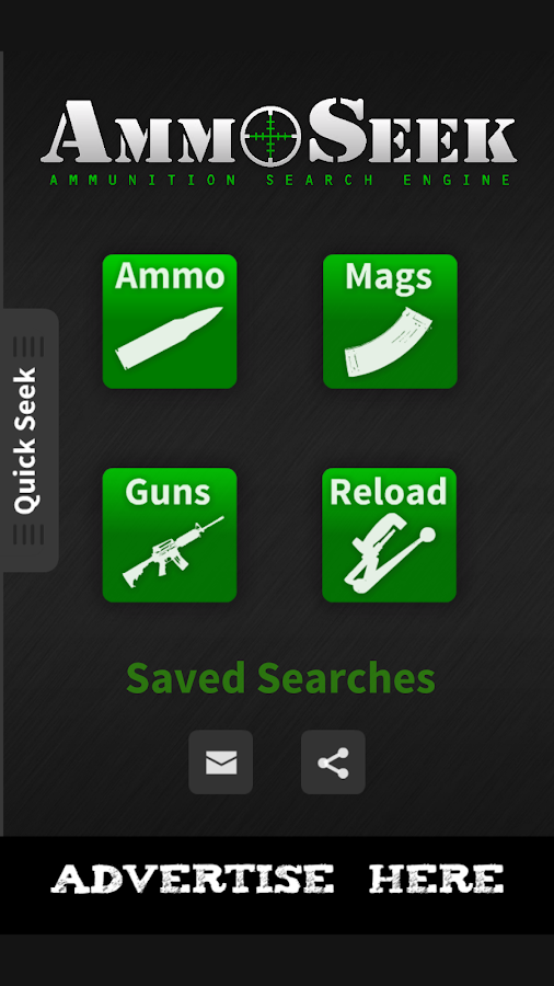 AmmoSeek - Ammo Search Engine- screenshot