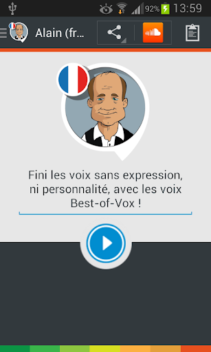 Alain voice French