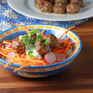 Thai Meatball Bowl