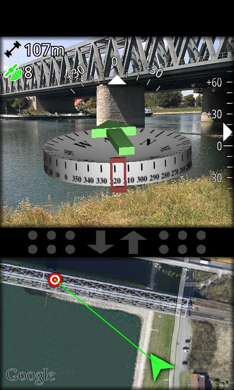 AR GPS Compass Map 3D - screenshot