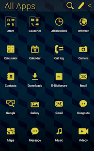 Cube Pattern Atom theme - screenshot thumbnail