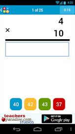 Math Practice Flash Cards Screenshot 5