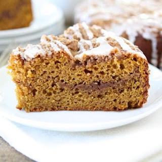 Pumpkin Cinnamon Streusel Coffee Cake