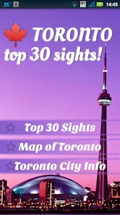 Toronto Top 30 Sights- screenshot thumbnail