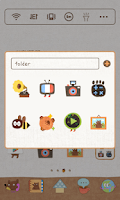 Screenshot of Honey Bear Dodol Theme