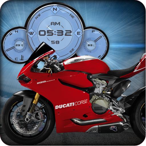 Ducati Panigale Motorbike LWP LOGO-APP點子