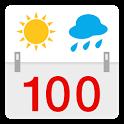 100jähriger Kalender icon