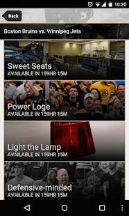 Boston Bruins Official App - screenshot thumbnail