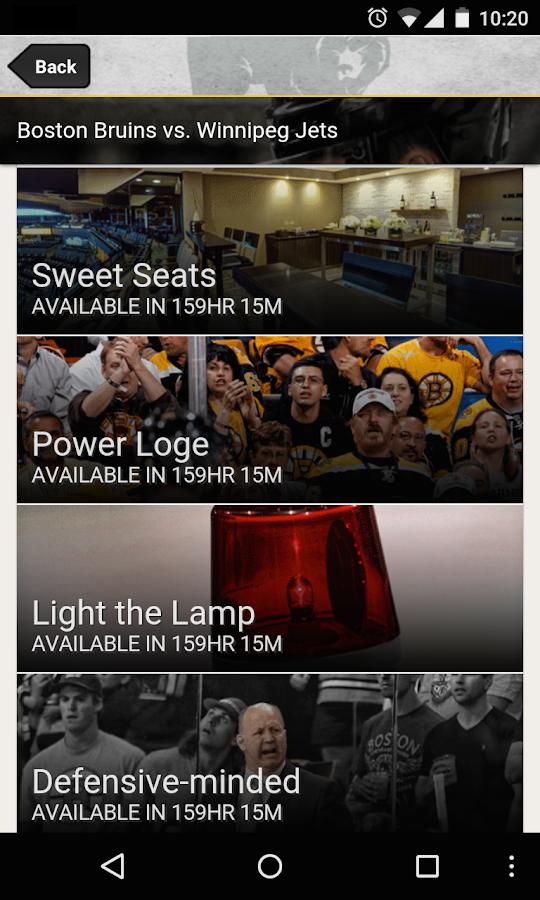 Boston Bruins Official App - screenshot