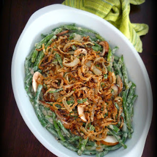 Homemade Green Bean Casserole from scratch