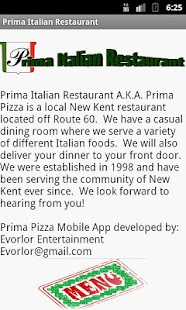 Prima Pizza - screenshot thumbnail