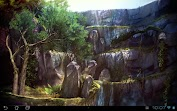 3D Waterfall Pro lwp Aplicaciones para Android screenshot