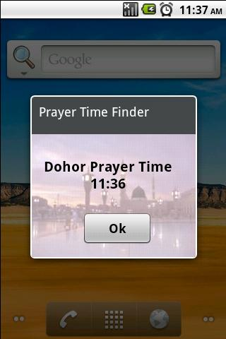 Prayer Time Finder - screenshot