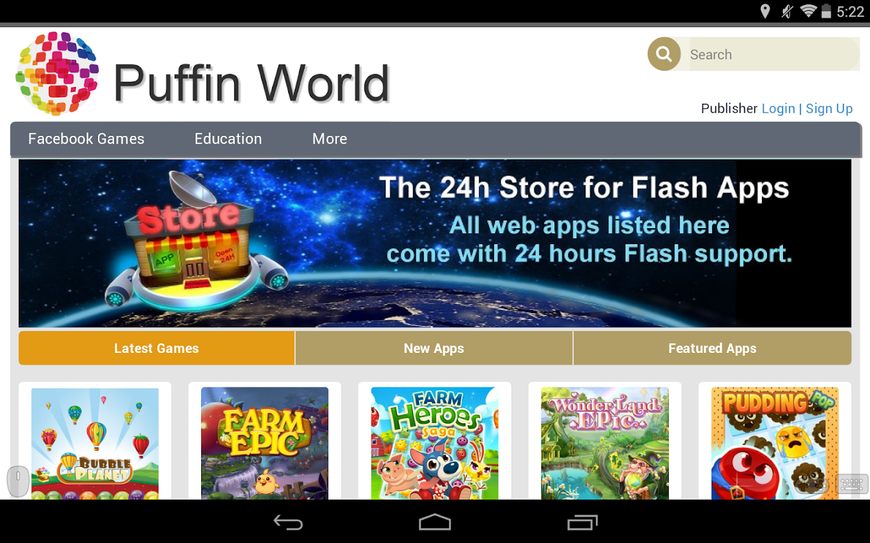 Puffin Web Browser - screenshot
