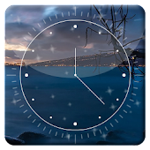 Ocean Night HD Analog Clock