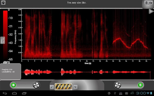 ProSpec Lite Spectrum Analyzer- screenshot thumbnail