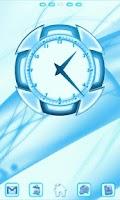 Screenshot of Blue Chill Clock 2