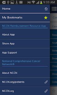 NCCN Reimbursement Resource - screenshot thumbnail