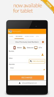 Mobile Recharge Plans & Packs- screenshot thumbnail